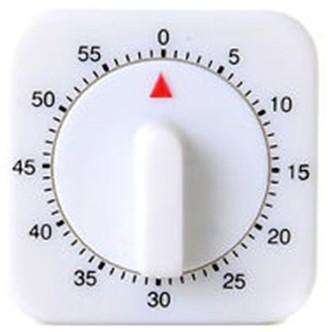 D.Line 60 Minute Square Timer