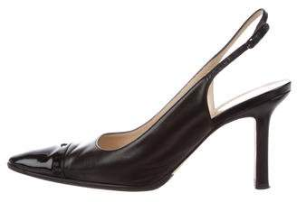 Chanel CC Slingback Pumps