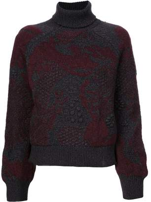 Barrie patterned sweater