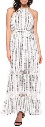 Dex Maxi Halter Dress