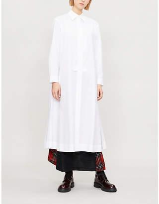 Y's Ys Long cotton shirt dress