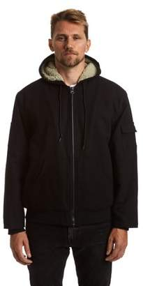 Stanley Big and Tall Men's Canvas Sherpa Lined Hoodie