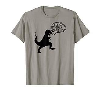 HELLO KINDERGARTEN Dinosaur First Day of School Shirt