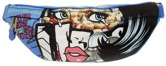 Moschino Shoulder Bag Belt Bag Moschinoeyes Capsule Collection In Technical Fabric With Pop Art Print