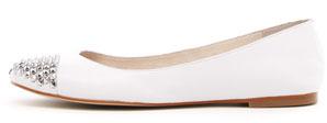 MICHAEL Michael Kors Aria Stud-Toe Ballerina Flat