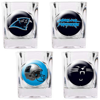 Great American Products 4 Piece NFL Collector's Shot Glass Set NFL Team: Chicago Bears