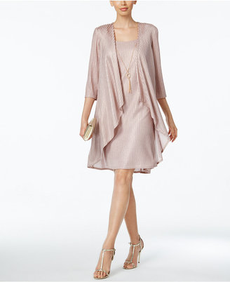 R & M Richards Shift Dress and Draped Jacket $99 thestylecure.com