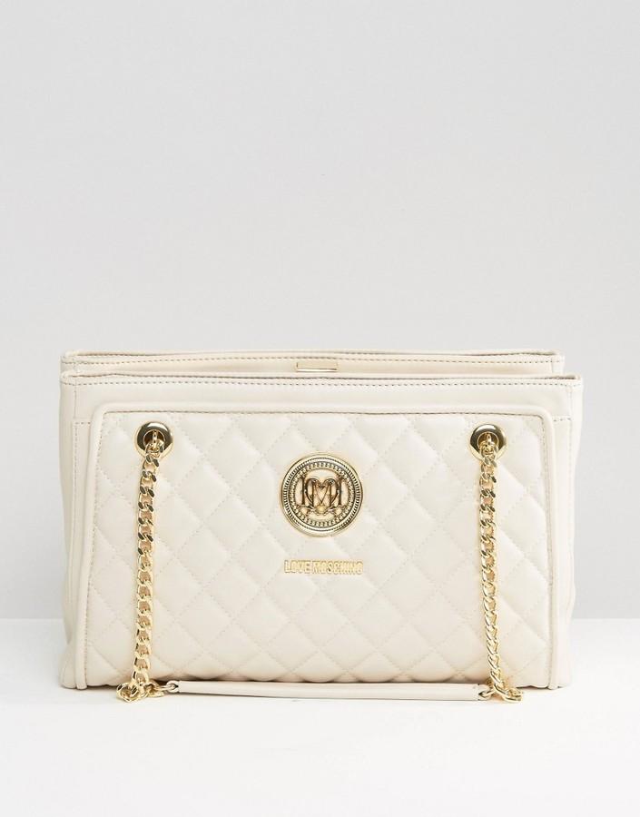 Love MoschinoLove Moschino Love Moshchino Quilted Shoulder Bag