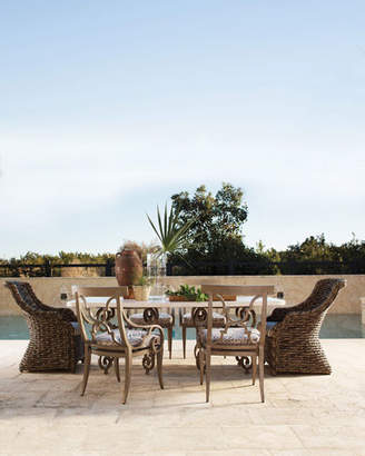 Hemingway Outdoor Wicker Dining/Accent Chair