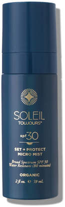 Soleil Toujours Organic Set & Protect Micro Mist SPF 30