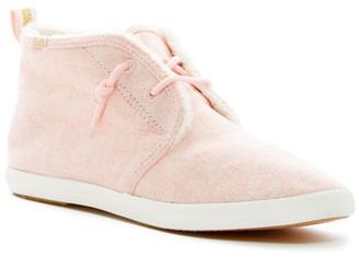 Keds Chillax Chukka Faux Fur Lined Sneaker $60 thestylecure.com