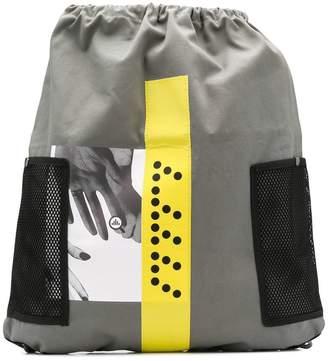 C.E colour-block backpack