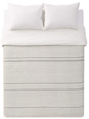 ED Ellen Degeneres Alta Striped Cotton Duvet Cover
