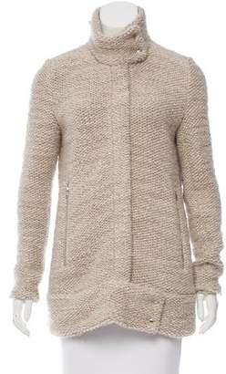IRO Oversize Zip-Up Coat