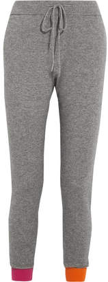 Chinti and Parker Wool And Cashmere-blend Track Pants - Gray