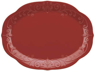 Lenox French Perle Oval Platter 16In