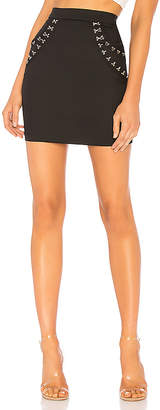 by the way. Ayleen Hook And Eye Mini Skirt