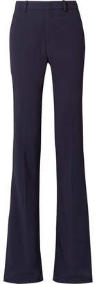 Gucci Cady Flared Pants - Navy