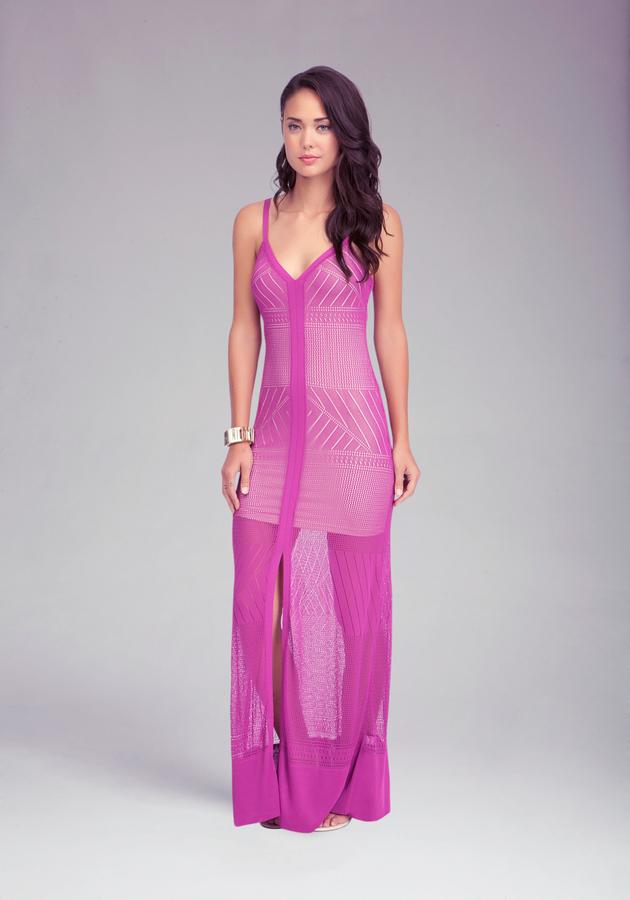 Bebe Strappy Maxi Dress