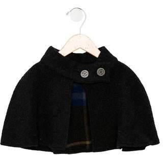 Burberry Girls' Merino Wool Cape