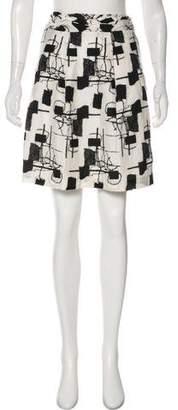 Pringle Printed Knee-Length Skirt