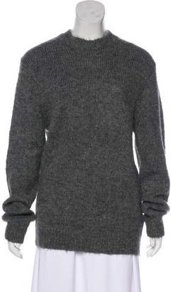 Celine Alpaca-Blend Crew Neck Sweater