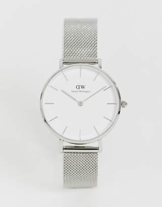 Daniel Wellington DW00100164 Mesh Watch In Silver