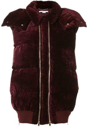 Stella McCartney velvet gillet