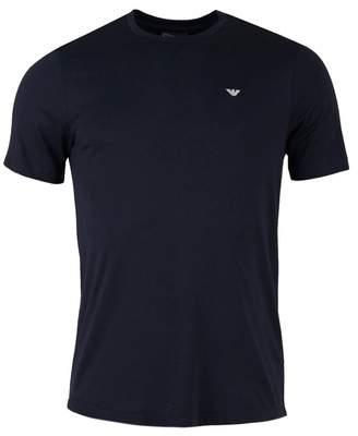 Giorgio Armani Rear Eagle Logo Crew Neck T-shirt