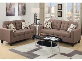Zipcode Design Amia 2 Piece Living Room Set