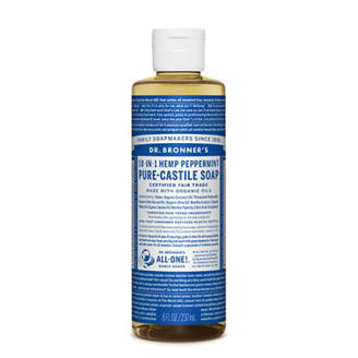 Dr. Bronner's Dr. Bronner Castile Liquid Soap - Peppermint 237ml