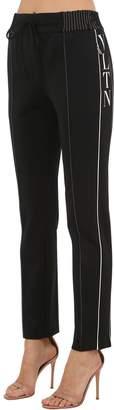 Valentino Vltn Techno Jersey Sweatpants