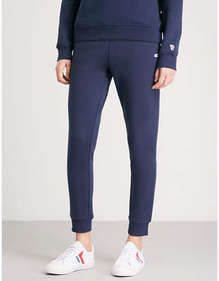 Tommy Jeans Classic embroidered logo-print jogging bottoms
