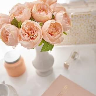 House of Hampton Artificial Peony Silk Flower Centerpiece