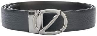 Ermenegildo Zegna pebbled logo belt