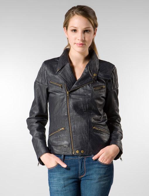 Corpus Leather Moto Jacket