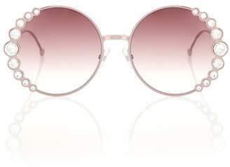52804ef203a Fendi Pink Sunglasses For Women - ShopStyle Canada