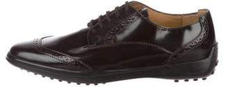 Tod's Brogue Lace-Up Oxfords