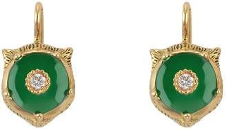 Gucci Feline Head Earrings