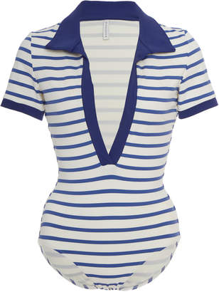 Solid & Striped Maya Striped Swimsuit