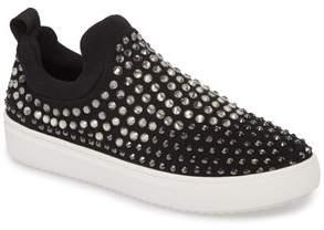 Steve Madden Sherry Crystal Embellished Sneaker