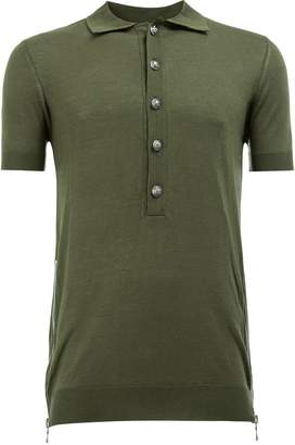 Balmain plain polo shirt