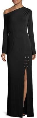 Yigal Azrouel Women's Off-Shoulder Jersey Gown