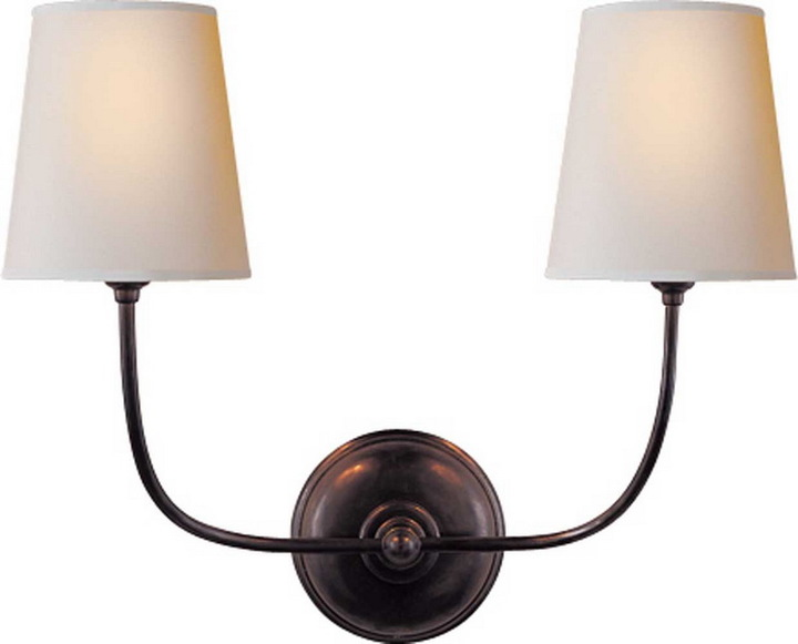 Thomas O'Brien VENDOME DOUBLE SCONCE