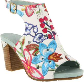 Spring Step L'Artiste by Leather Sandals - Tapestry
