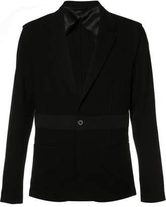 Lanvin single button stripe blazer