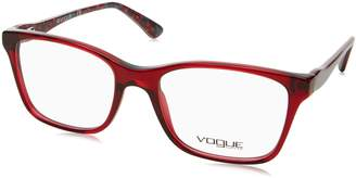 Vogue Eyeglasses 2907 Burgundy Square