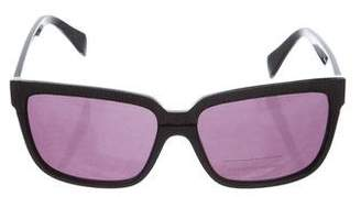 Alexander McQueen Tinted Square Sunglasses