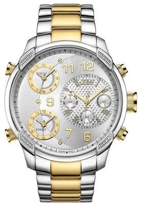 JBW Men's G4 Diamond Watch, 53mm - 0.16 ctw