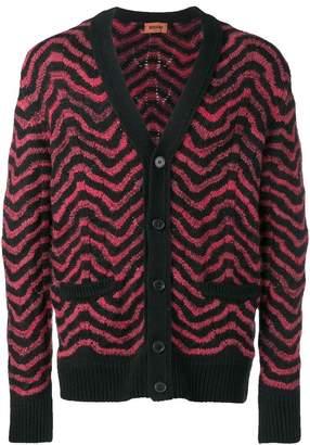 Missoni patterned V-neck cardigan
